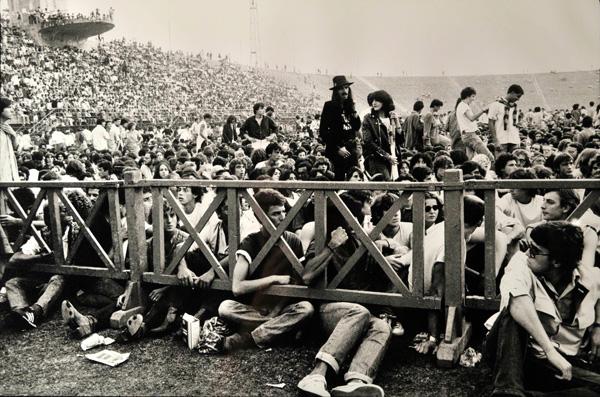 Firenze, 10 settembre 1979: in attesa del concerto (dalla fotogalleria su