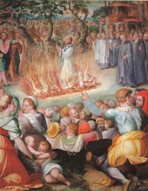 13 febbraio 1068: la prova del fuoco di Settimo « Storia di Firenze