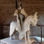 Anonimo, Statua equestre di Mastino II della Scala, metà del XIV secolo. Verona, Museo di Castelvecchio