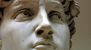 Particolare del David di Michelangelo