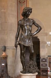 Andrea del Verrocchio, David, 1472-1475 circa. Firenze, Museo Nazionale del Bargello