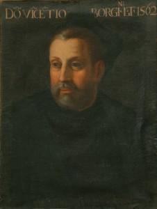 Valerio Marucelli, Vincenzo Borghini, 1596. Firenze, Accademia delle Arti del Disegno