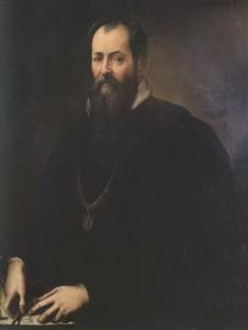 Ambito vasariano, Jacopo Zucchi (attr.), Giorgio Vasari, 1570 ca. Firenze, Galleria degli Uffizi