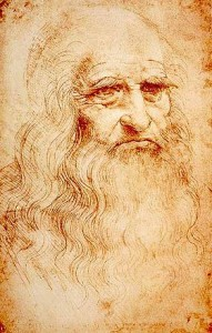 Leonardo da Vinci, Autoritratto, 1515 circa. Torino, Biblioteca Reale
