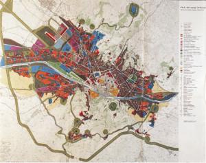 Piano Regolatore di Firenze (1962). Tratta da: «Urbanistica», n. 39, 1963