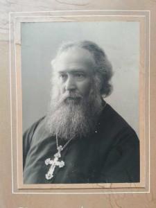 L'Arciprete Vladimir Levickij. Firenze, Archivio della Chiesa Ortodossa Russa