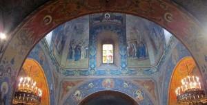 Interno della Chiesa ortodossa russa a Firenze